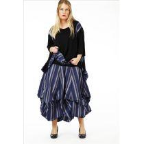 Lagenlook Röcke verwandelbar Karo oder Streifen