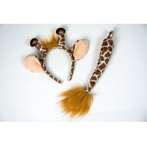 Giraffenset: Kopfbügel und Schwanz