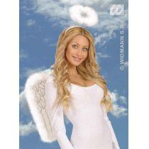 Heiligenschein marabou weiß - Weihnachten Engel
