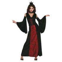 Kostüm - Vampirin - Gr. 36/38 - Vamp Fatale - Gruselig