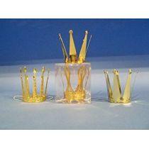 Krone - Krönchen - gold - Metallkrone für Kinder