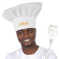 Mütze Kochmütze ca. 31 cm (Erwachsene) - Karneval
