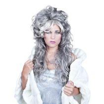 Perücke Damenperücke Ice Queen - lang - grau