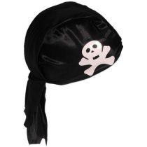 Piratenhaube schwarz, mit Totenkopf für Erwachsene - SONDERPREIS