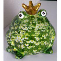 Pomme Pidou Frosch Wiesenserie, Frosch Wiese mit Gänseblümchen, Spardose