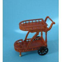 Edler Teewagen Louis Philippe Holz Puppenhaus Miniatur 1:12