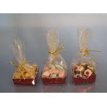 Geschenkbox mit Süssigkeiten Puppenhaus Küchen Miniaturen 1:12