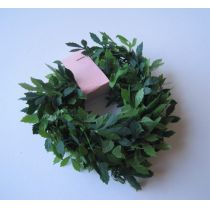 Girlande Buchsbaum grün 100 cm Garten Dekoration Miniatur 1:12