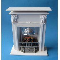 Grosser Kamin edel  Puppenhausmöbel Dekorationen Miniaturen 1:12