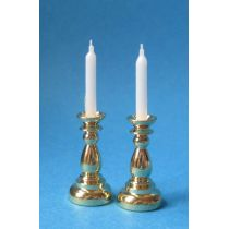 Kerzenleuchter 2 Stück Puppenhaus Dekoration Miniatur 1:12