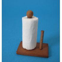Küchenpapier mit Halter Puppenhaus Küchen Miniaturen 1:12