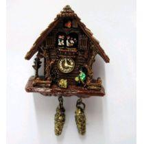 Kuckucksuhr Puppenhaus Wanduhr Miniaturen 1:12