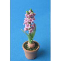 Mini Hyazinthe im Blumentopf Puppenhaus Dekoration Miniatur 1:12