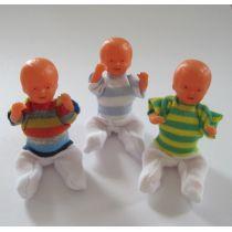 Puppe Junge 6 cm für die Puppenstube Miniatur 1:12 Schwenk