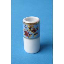 Puppenhaus Bodenvase Porzellan Miniatur 1:12