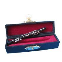 Puppenhaus Klarinette im Koffer Musikinstrument Miniatur 1:12