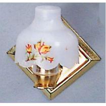 Wandlampe Blume Puppenhaus Möbel Wohnzimmer Diele Miniaturen 1:12