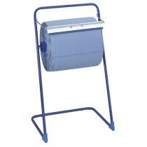 Bodenständer für Putztuchrollen bis 40 cm breite, blau