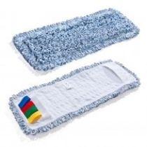 Mikrofaser Baumwollmopp Duo Clean 50 cm blau für alle Klapphalter mit 50 cm breite