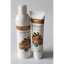 Arganöl Shampoo -Duschgel  und Arganöl Körpercreme  parfumfrei