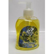 Badusan Flüssigseife Handseife Spender Lindenblüte 300 ml