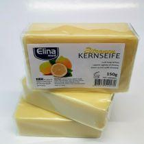 Elina med Kernseife Zitrone 6 x 150g feste Seife Haushaltsseife