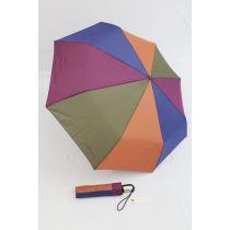Esprit Automatik Regenschirm lila oliv Taschenschirm