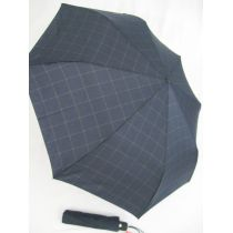 Esprit karierter Regenschirm Herren blau grau tecmatic