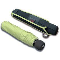 Euroschirm Regenschirm Light Trek automatic hellgrüner Regenschirm zum wandern