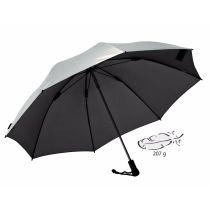 EUROSCHIRM Swing liteflex silber UV-Schutz Regenschirm Trekkingschirm