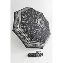 Happy Rain Automatik Regenschirm Letters Taschenschirm Damenschirm