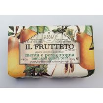 Nesti Dante Fruchtseife 250g Minze Birne Seife Handseife