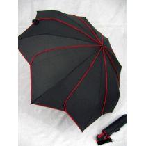 Pierre Cardin Automatik Regenschirm Sunflower schwarz