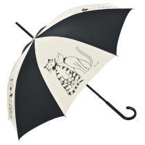 Stockschirm Regenschirm Minou und Minette Designschirm
