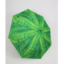 Susino Regenschirm Automatik Taschenschirm Damen Palmenblatt windproof 3563