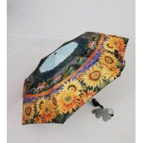 Susino Regenschirm Automatik Taschenschirm Damen Sonnenblume  3561