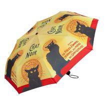 Von Lilienfeld Automatik Taschenschirm Chat Noire Regenschirm