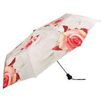 Von Lilienfeld Regenschirm Rosen creme Taschenschirm