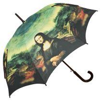 Von Lilienfeld Regenschirm Stockschirm Motivschirm Mona Lisa