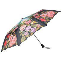 Von Lilienfeld Regenschirm Taschenschirm Rosengarten Damen
