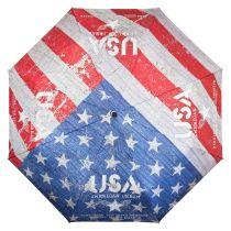 Von Lilienfeld Regenschirm Taschenschirm USA Motivschirm