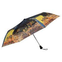 """Von Lilienfeld Regenschirm Vincent van Gogh """" Nachtcafe """" Taschenschirm"""