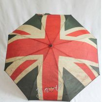 Ynot? Automatik Regenschirm Flagge UK Easymatic
