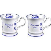 2 Stück- Porzellan- Tasse, Kaffeepott, Becher- Amrum -deutsches Produktdesign