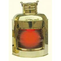 **Backbord- Schiffslampe - Schiffsleuchte -Messing H 30 cm- elektrisch