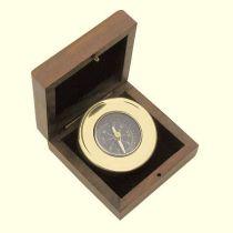 **Edler Kompass  5 cm in Holzschatulle