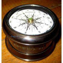 **Edler Marine Kompass mit Windrose- Antiklook- Stanley London