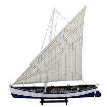 **Fischerschiff- Schiffsmodell Segler Fischerboot