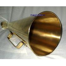 **Großes Megaphon aus Messing- 34 cm