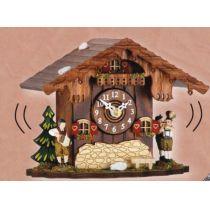 Kuckucksuhr- Tischuhr mit Kuckucksruf - Cuckoo Clocks- Schwarzwald